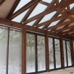 Проект остекления летней кухни в Сосново